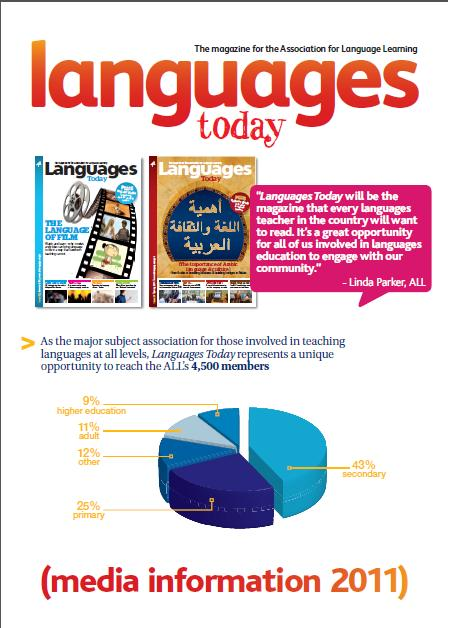 Languages Today Media Pack