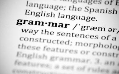 My Best 10 …ideas for practising grammar. Especially verbs!