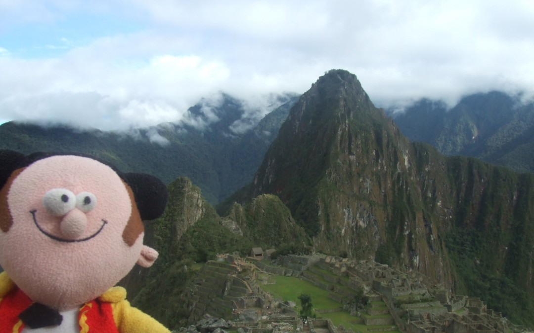 A teacher's odyssey in South America: one man, one toy, one language