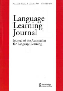 The Language Learning Journal