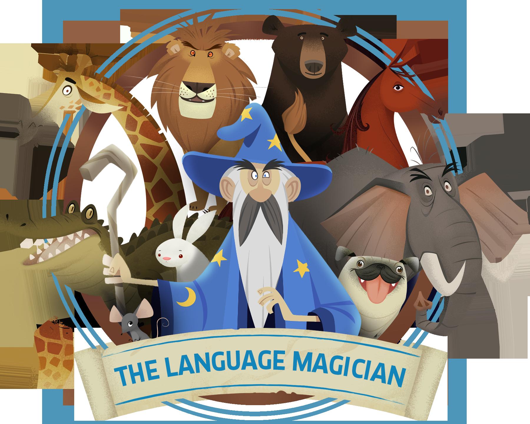 Resultat d'imatges de the language magician