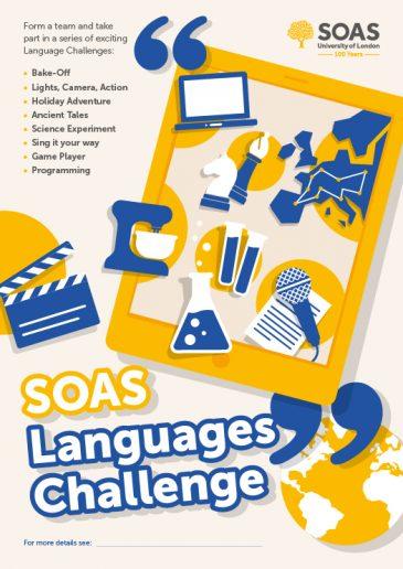 soas-languages-challenge-poster