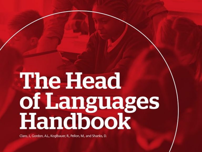The Head of Languages Handbook
