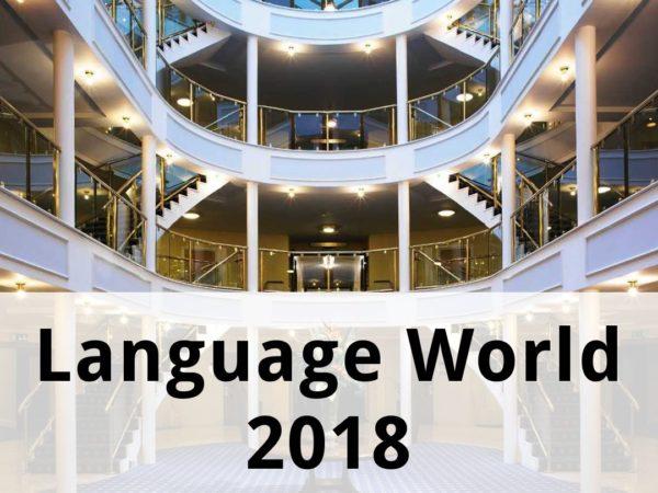 Language World 2018
