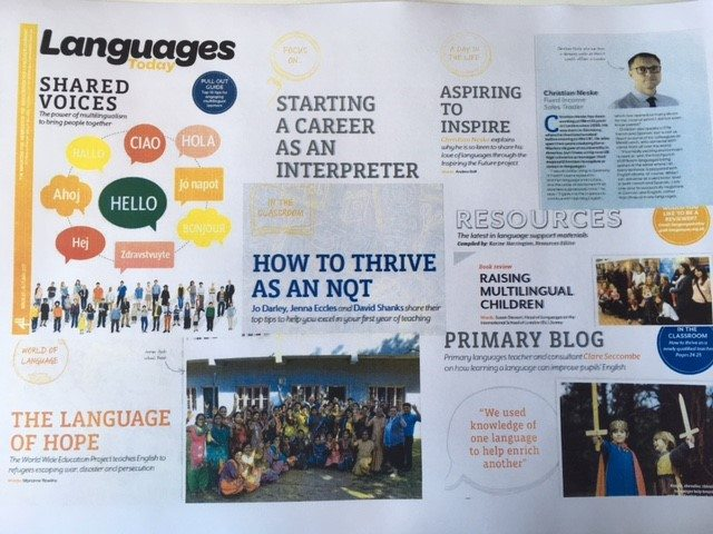 Languages Today – Shared Voices