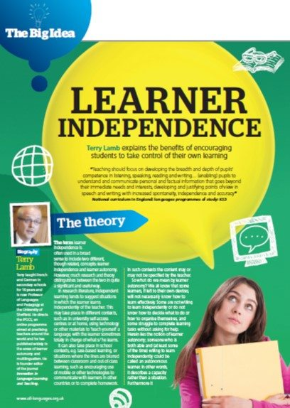 Learner Independence