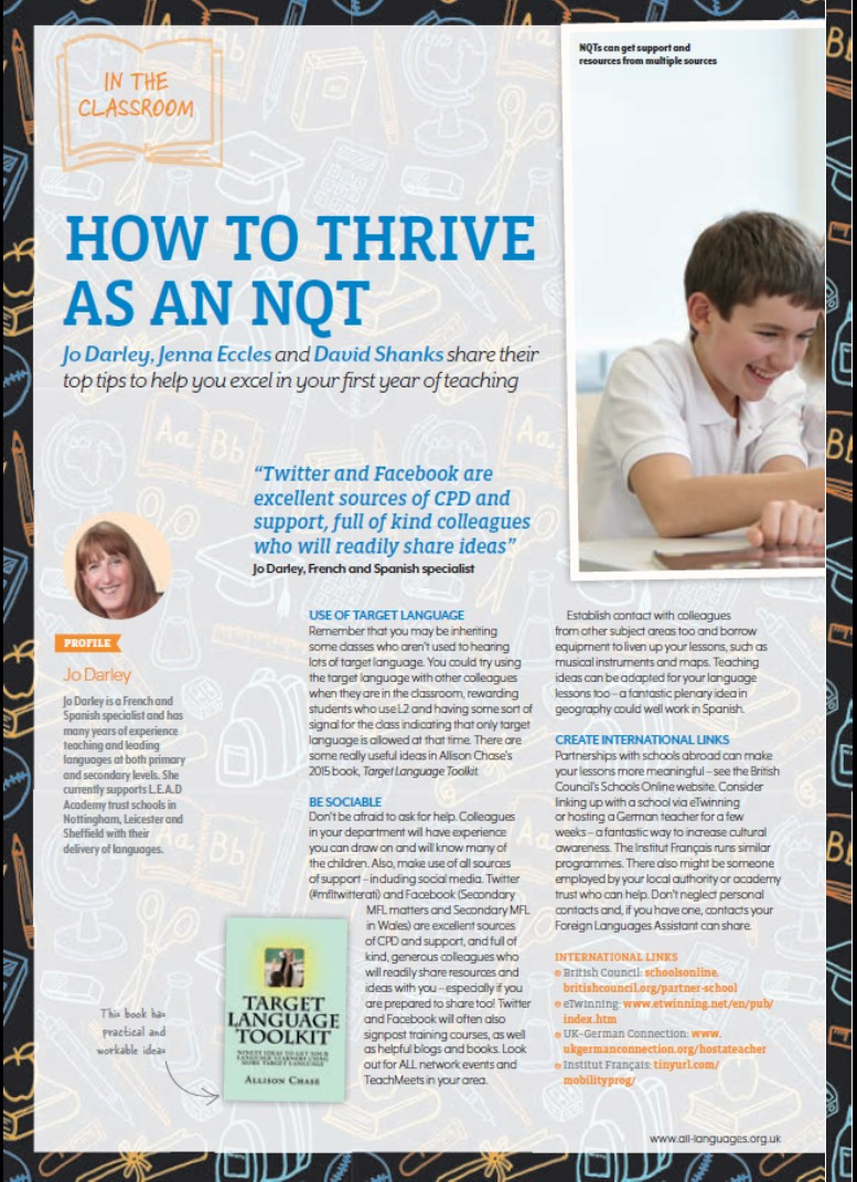 How to… thrive as an NQT