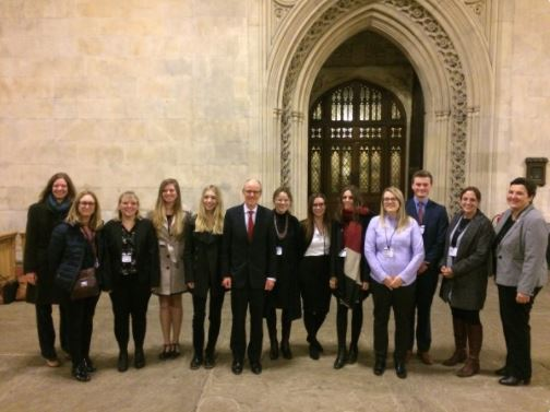 ALL Student Ambassadors attend APPG