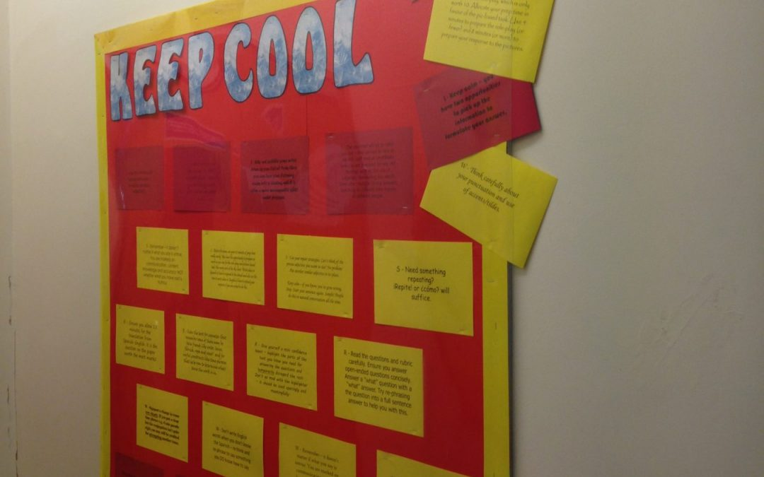 Keeping cool in the summer 2018 MFL GCSEs
