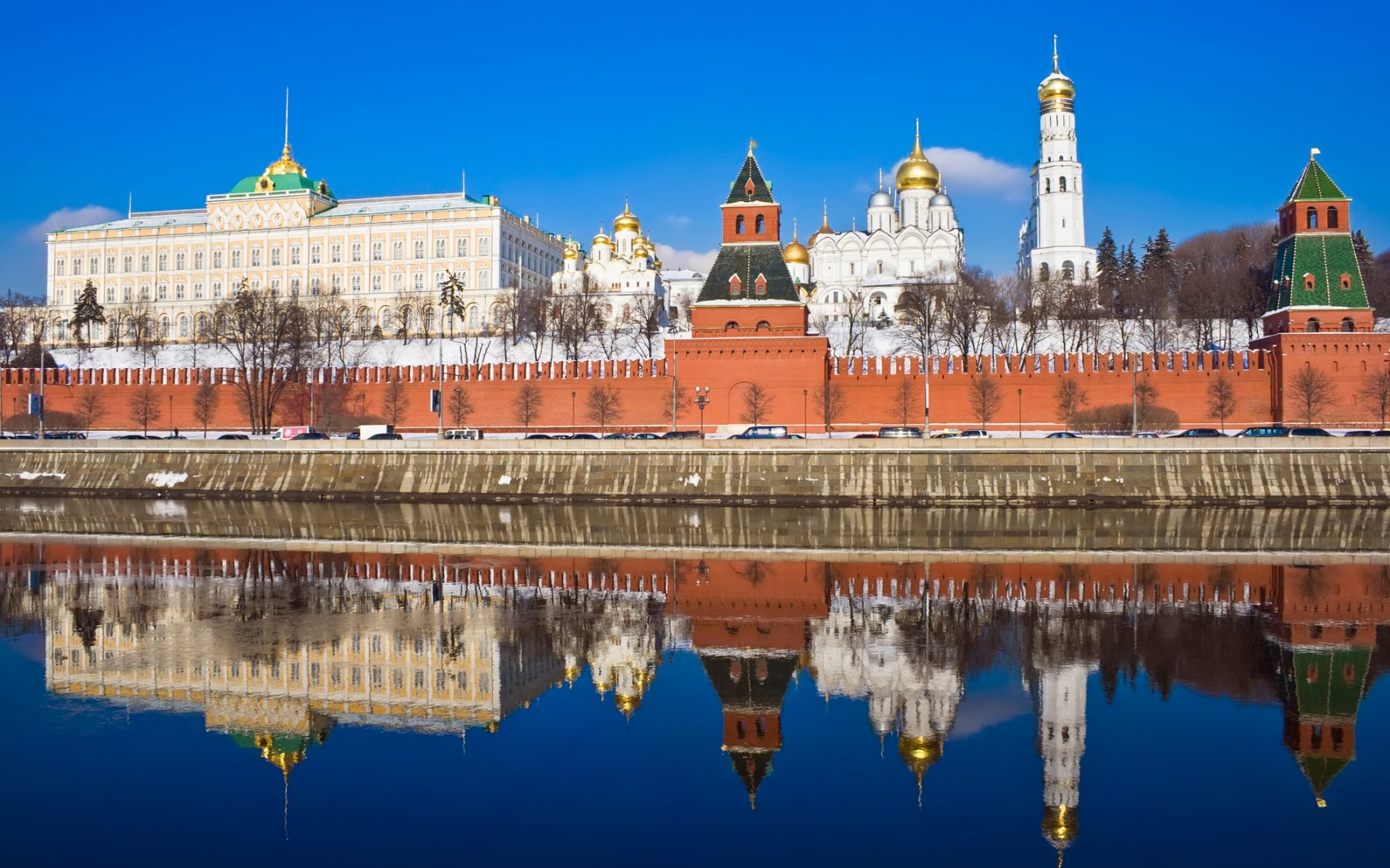 Spend spring in Russia…
