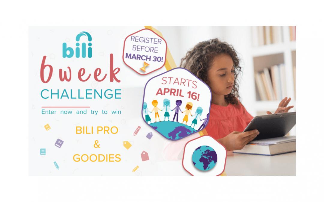 Bili's Six Week Challenge