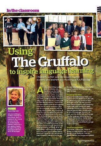 Using 'The Gruffalo' to inspire language learning