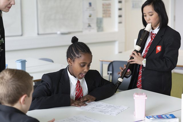 Workshops bring French poetry and music to life for pupils