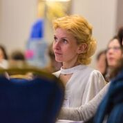 delegate listening intently