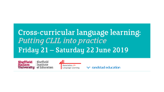 Cross-curricular Language Learning: Putting CLIL into Practice conference